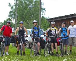 Туристы. Велопробег